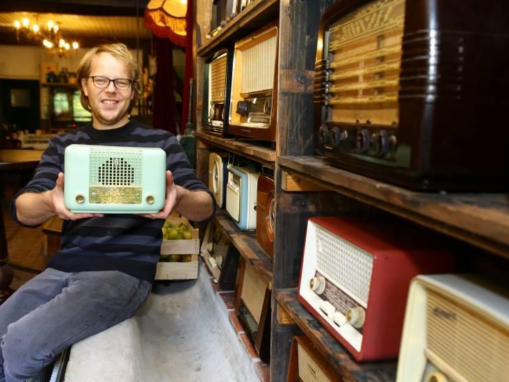 Oude radio's zijn voor Wouter net oldtimers: 'Daar word je hebberig van'