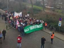 Tweede bescheiden Klimaatmars door Nijmegen