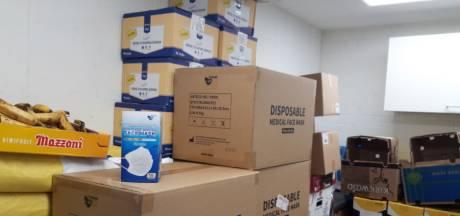 Papendrecht schenkt Voedselbank 8000 mondkapjes