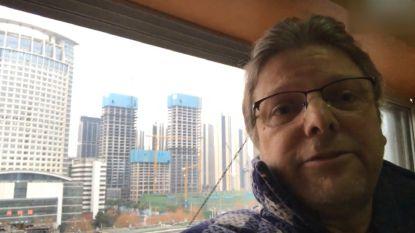 """Vlaming Johan Smets wil zo snel mogelijk weg uit 'spookstad' Wuhan: """"Als evacuatieplan klaar is, vertrekken we"""""""