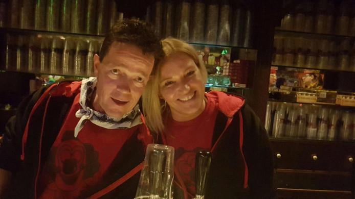 Werner Wauters en Mirja Lockefeer, eigenaren van 't Anker in Hulst.