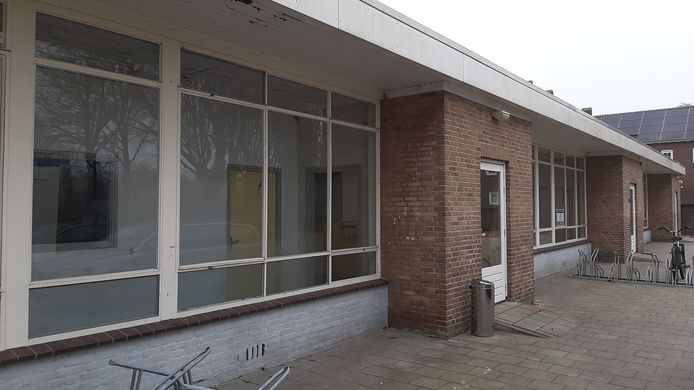 Tijdelijke opvang in oud schoolpand in wijk Heuvel in Breda.