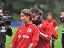 Nationale voetbalploeg van Japan bereidt zich in Doorwerth voor op oefenduels