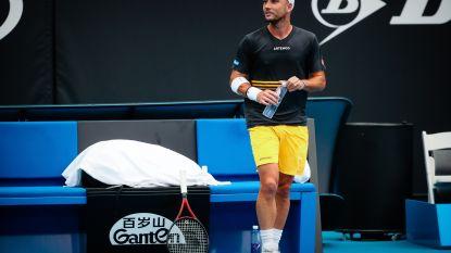 """De carrière van Steve Darcis eindigt in de kwalificaties van de Australian Open: """"Ik ben vooral triest nu"""""""