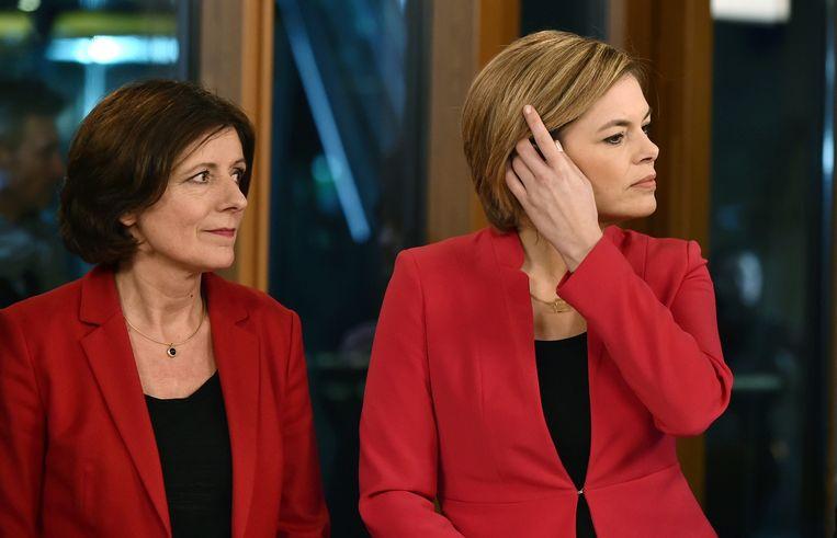 SPD-leider Malu Dreyer versloeg CDU-leider Julia Klöckner. Beeld null