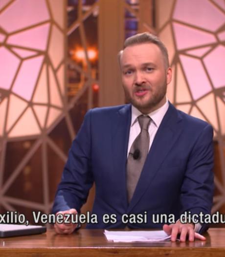 Arjen Lubach maakt protestsong tegen Venezolaanse president Maduro
