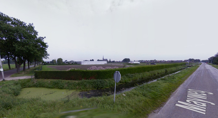 Het gebied tussen de Mayweg en de Kerkstraat.