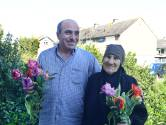 Boeijerstraat in Bruinisse: Arabisch eten tijdens de straatbarbecue
