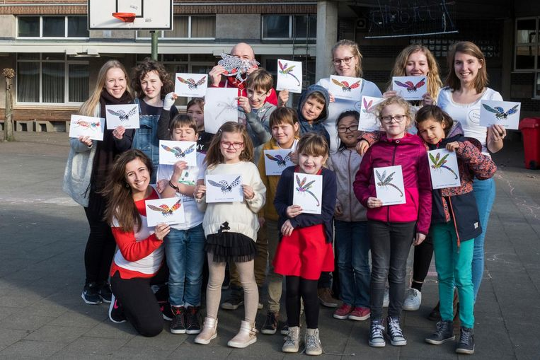 Het team van STERKkamp helpt jongeren tussen zeven en twaalf jaar.