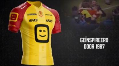 """FT België. In dit retroshirt speelt KV Mechelen finale van de Cup - Enzo Scifo: """"Zonder Fellaini winnen we nooit het EK"""""""