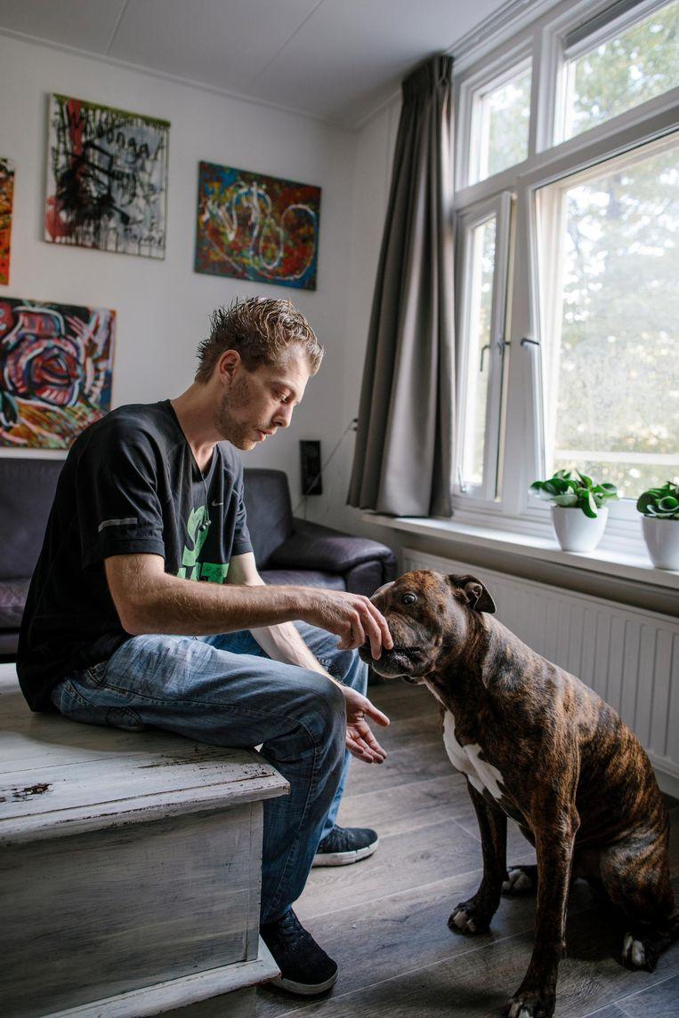 Bjorn van Dijk: 'De relatie met mijn vader is nu beter en ik zie nu ook mijn moeder' Beeld Marc Driessen