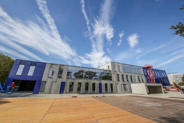 Het nieuwe politiegebouw kan in de toekomst ook dienstdoen als crisiscentrum, als het nog wordt uitgebreid in de hoogte.