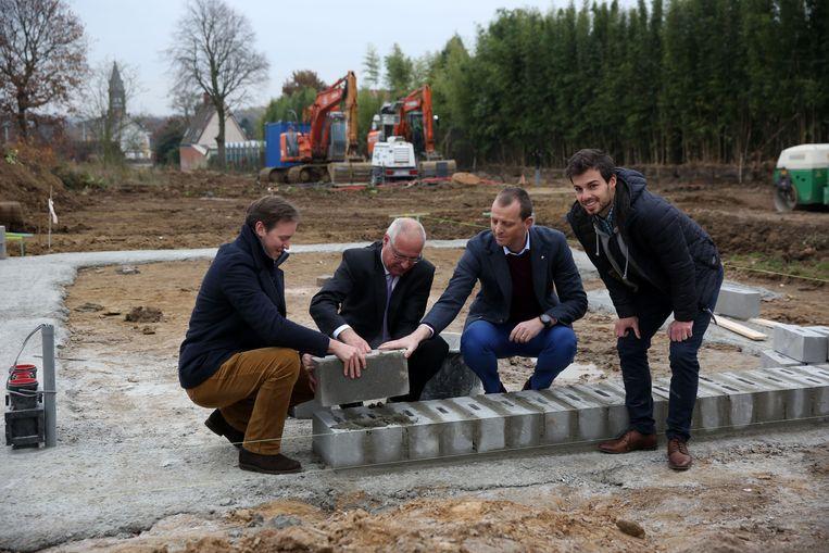 In 2016 werd al een eerste steen gelegd van een deel van het project Kanaaltuinen.