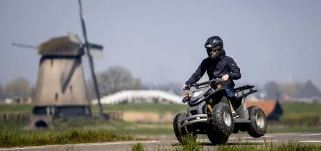 Tweetal berooft Bredanaar op bijzondere wijze van quad in Biest-Houtakker, politie tast in het duister