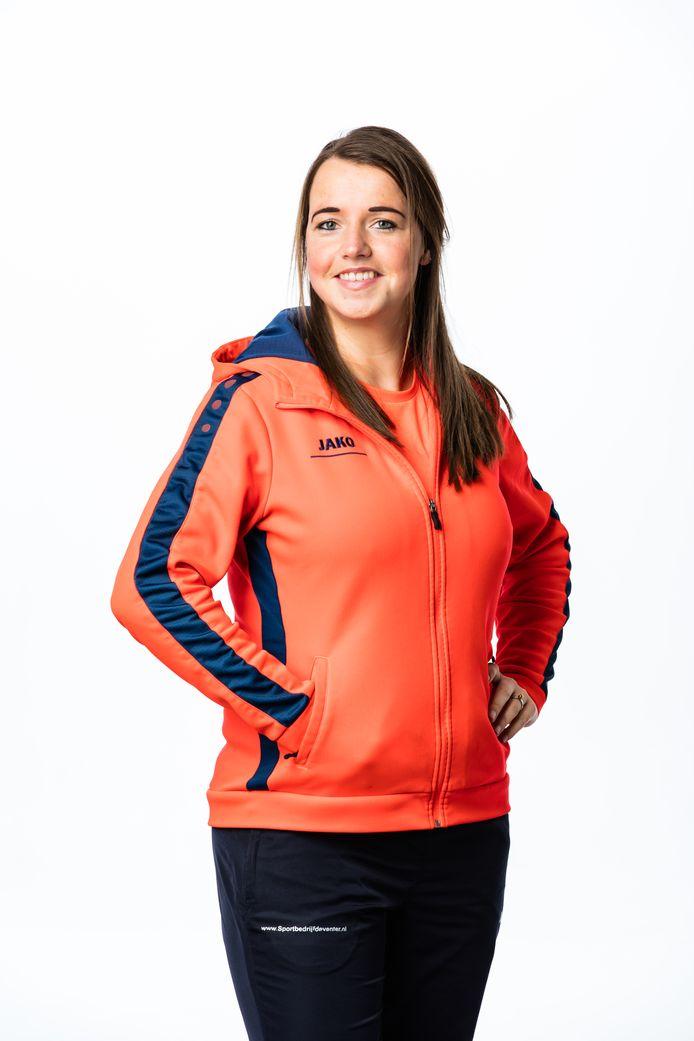 Mieke Tip, Sport- en Beweegcoach van Sportbedrijf Deventer