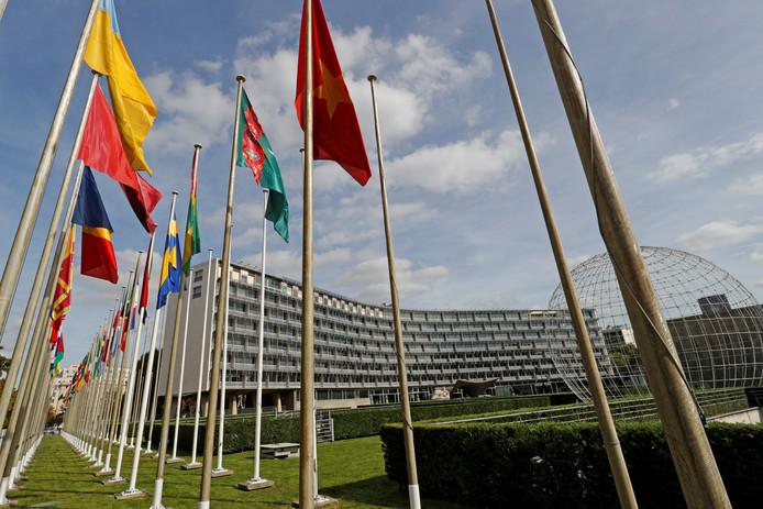 Het hoofdkwartier van Unesco in Parijs.