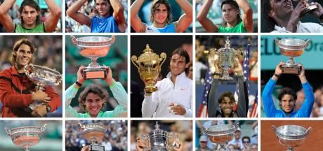 20 Grand Slam-titels in beeld: het prachtige palmares van veelvraat Nadal