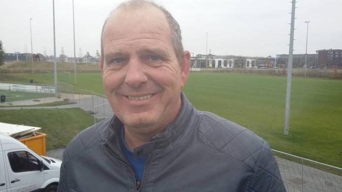 Voorzitter VV Oosterhout Bert-Jan de Ronde.