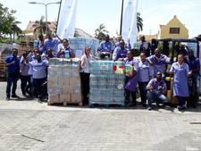 Nijkerkse weldoener levert  supersnel hulpgoederen af in Sint-Maarten