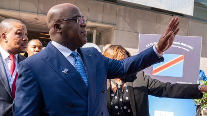 Tshisekedi bezoekt Antwerpen en tekent overeenkomst met Antwerpse diamantsector