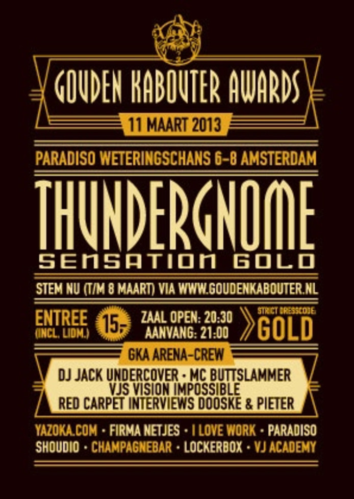 Affiche Gouden Kabouter Awards