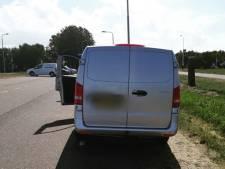 Politie pakt rijbewijzen af van hardrijders op A58