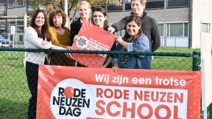 Ook Middenschool Den Brandt komt in actie voor Rode Neuzen Dag