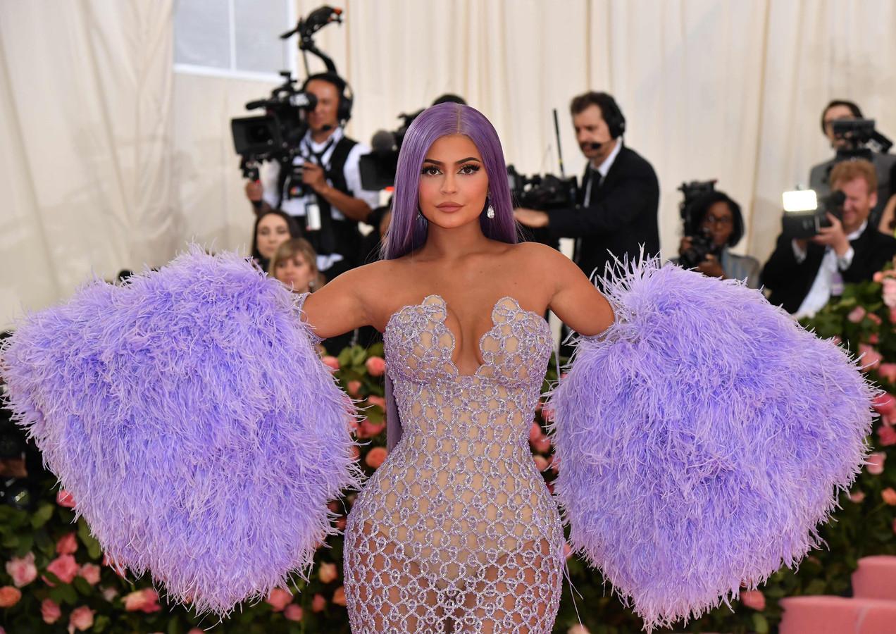 Kylie Jenner op het MET Gala