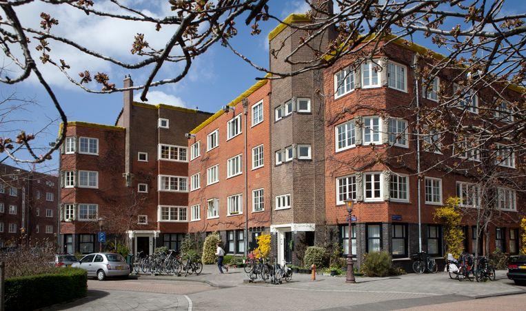 De Harmoniehof in Amsterdam-Zuid behoort tot woningvereniging Samenwerking.  Beeld Floris Lok
