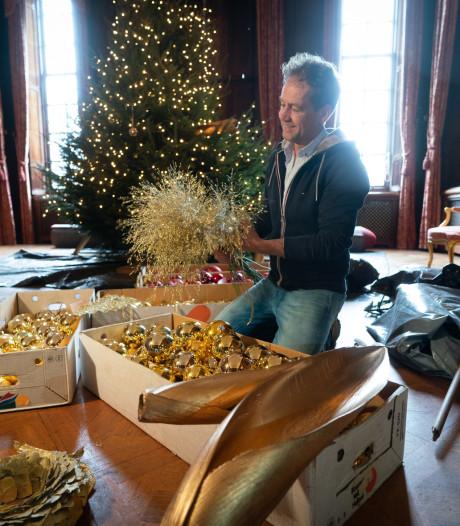 Nederlands kampioen brengt kasteel Middachten helemaal in de kerstsfeer