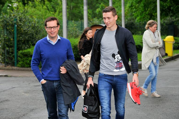 Evert Maeschalck is onder meer spelersmakelaar van Hans Vanaken.