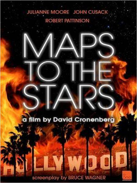 "David Cronenberg revient avec ""Maps to the stars"". Julianne Moore, John Cusack et Robert Pattinson sont à l'affiche."