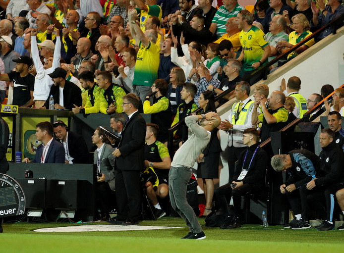 Sale soirée pour Pep Guardiola à Norwich.