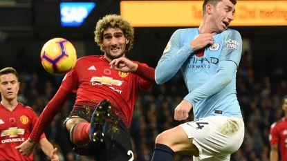 Mourinho doet wat híj wil met Fellaini: middenvelder niet bij Rode Duivels, maar wel 90 minuten op het veld in derby tegen Manchester City