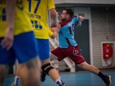 Handballers DFS laten zich op vechtlust aftroeven