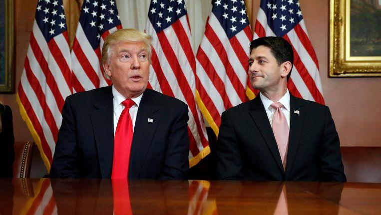 Trump en Ryan Beeld ap