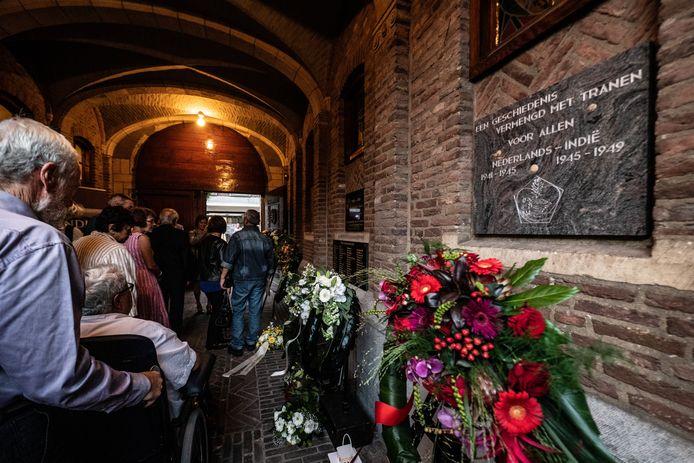 De onderscheiden Peter van Riel is nauw betrokken bij jaarlijkse Indië Herdenking op de Gedeputeerdenplaats in Nijmegen