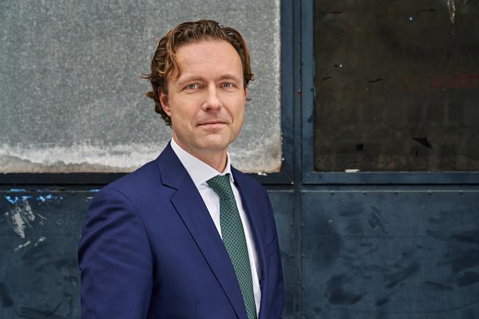 Bas Kurvers wethouder Bouwen, wonen en energietransitie gebouwde omgeving.