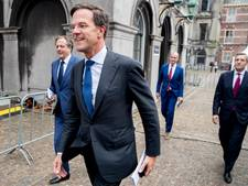 VVD, CDA en D66 gaan met ChristenUnie onderhandelen over kabinet