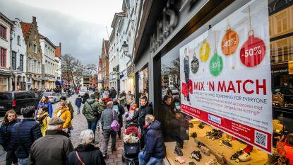 Pre-solden in Brugge: volop koppelverkoop en volle parkings