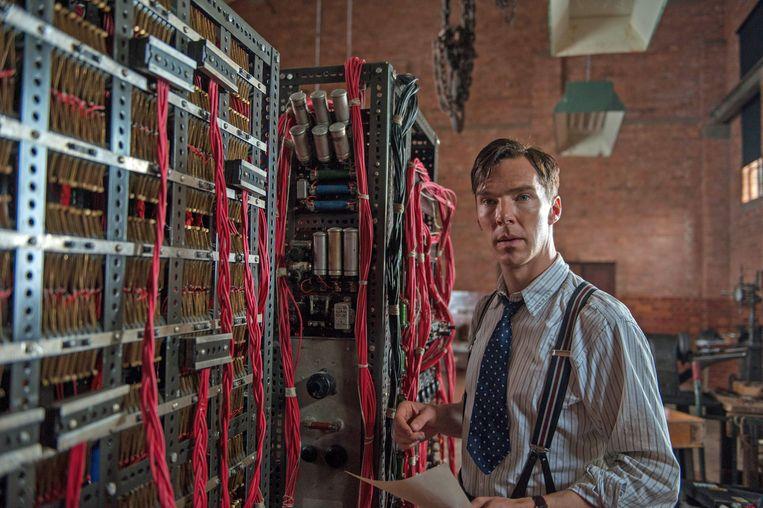 Benedict Cumberbatch als Alan Turing in The Imitation Game. Beeld Jack English