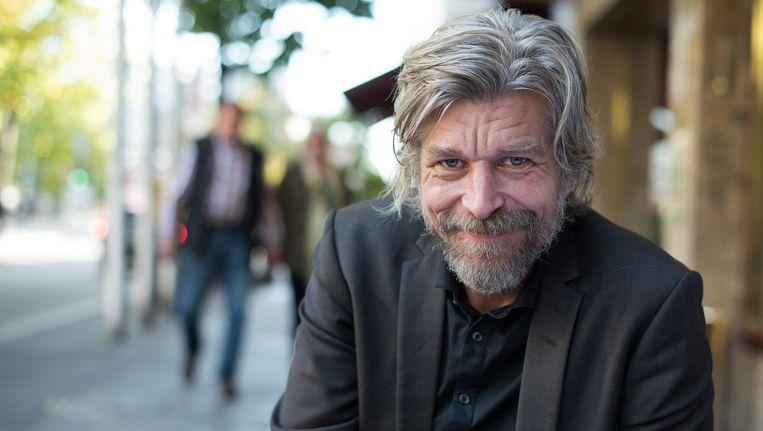 Schrijver Karl Ove Knausgård. Beeld epa