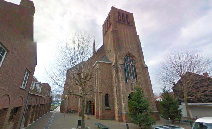De Johannes de Doperkerk aan de Oude Kerkstraat in Sluis.