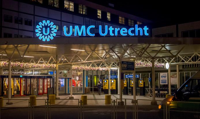 Exterieur van het Universitair Medisch Centrum (UMC) in Utrecht.