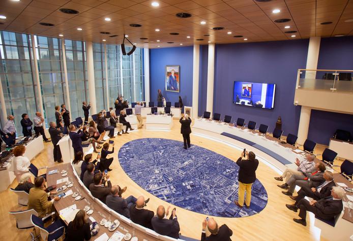 De raadszaal van Veenendaal