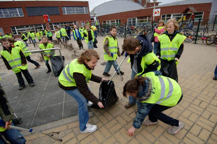 Meerdere scholen in Meierijstad doen mee aan de landelijke Opschoondag op 29 maart.