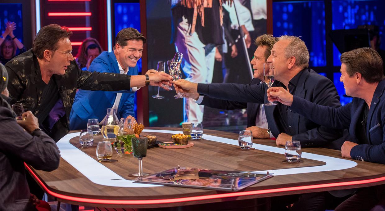 Twan Huys bij RTL Late Night.