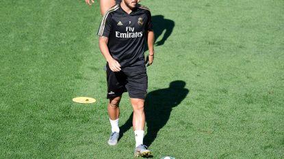 Eden Hazard sukkelt met hamstrings en moet La Liga-debuut voor Real uitstellen