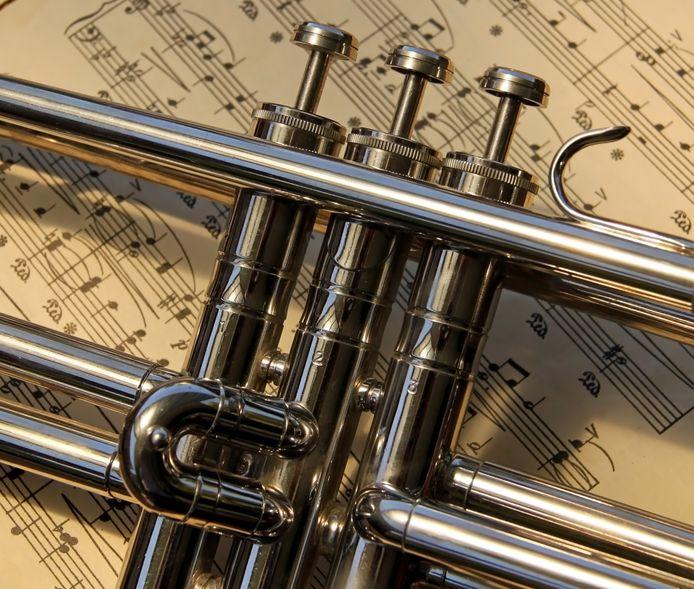 stockagenda stockfoto stockadr muziek trompet instrument concert optreden