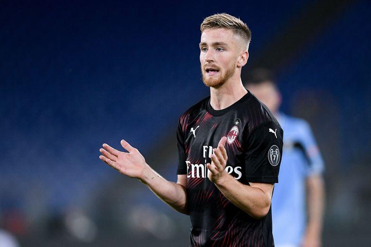 Alexis Saelemaekers maakt steeds meer indruk bij Milan.